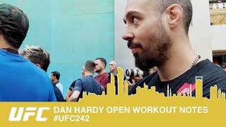 BTS - DAN HARDYS OPENWORK OUT NOTES.
