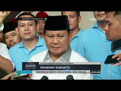 Prabowo Bersama Timses Optismis Hadapi Pilpres 2019-IMS