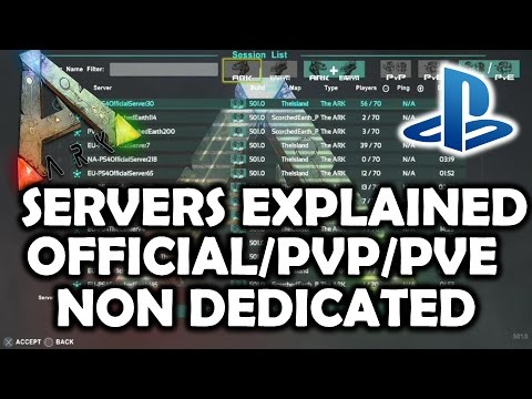 ARK Survival Evolved PS4 Servers Explained – Join Official/Non Dedicated/Single Player