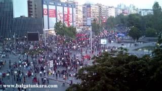 preview picture of video 'Taksim Gezi Parkı Olayları - Ankara / 2'