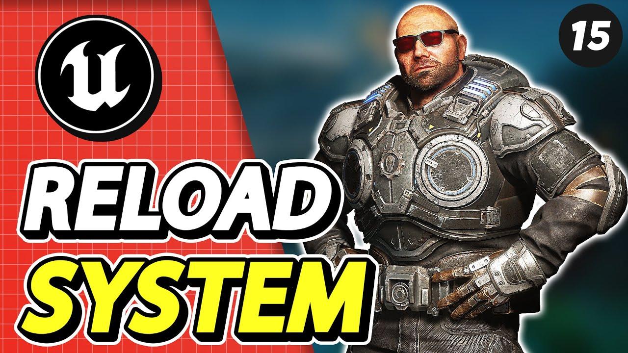 #15 UE4 Ammo System | Active Reload System pt. 2  | Tuto Arme UE4 | Unreal Engine 4 Tuto FR