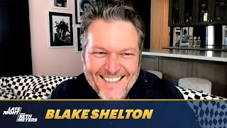 Blake Shelton Reveals All About His Wedding Including a Song He Wrote for Gwen Stefani