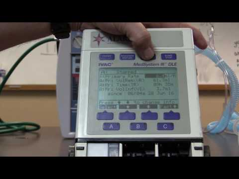 ALARIS MedSystem III PUMP VIDEO