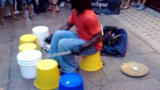 Street Drummer Video