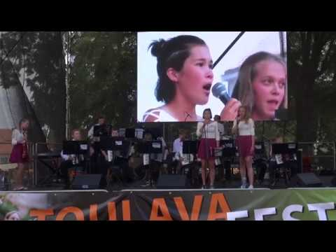 Toulava Fest Sedlčany 2018 - vystoupení žáků ZUŠ Sedlčany