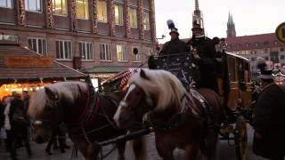preview picture of video 'Strolling around the Nuremberg Christmas Market'
