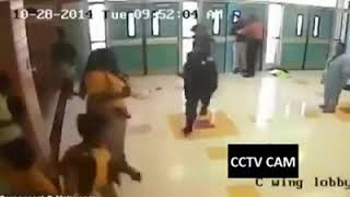 A Baltimore school police officer decided to take her frustration out on 3 young school girls