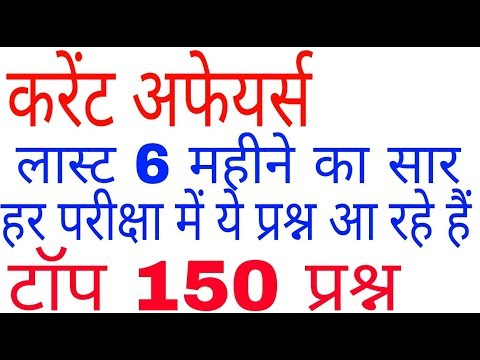 2020 current affairs in hindi । rrb ntpc । Railway group d । gs । ssc gd ।general science । psc । si