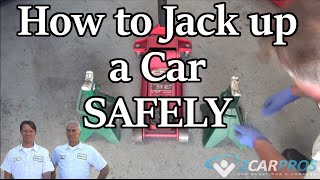 Jack and Lift Up Your Car Using Jack Stands