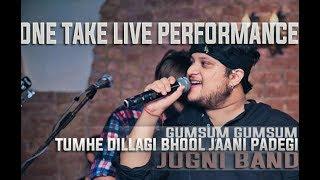 Sufi Rock Band Delhi |Tumhe Dillagi Bhool Jaani Padegi | Gumsum Gumsum|One Take Live Performance