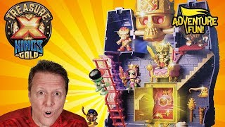 "Treasure X Kings Gold ""Tomb"" Raider Season 3 Adventure Fun Toy review by Dad!"