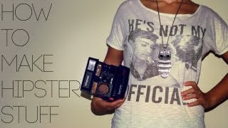 Photoshop Tutorial - How To Make Hipster Stuff - Basic