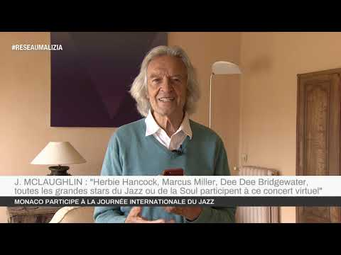 Journée internationale du Jazz : John McLaughlin représente Monaco
