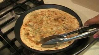 """ MOOLI PARATHA "" Bajias Cooking"