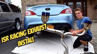 350z isr exhaust install - TH-Clip