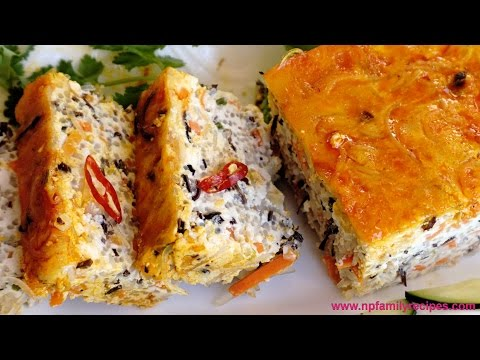 Vegetarian Steamed Meatloaf Recipe (Chả Hấp Chay) – NPFamily Recipe