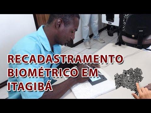 TRE-BA Recadastramento biométrico 2015 em Itagibá
