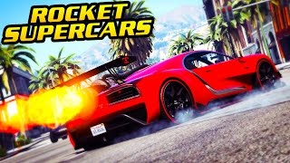 "WHAT OTHER ""ROCKET POWERED"" CARS COULD LOOK LIKE IN GTA ONLINE!"