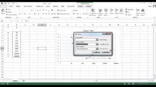 How to Swap between X and Y Axis in Excel