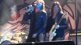 Europe - Stormwind live at Väsby Rock Festival 2014