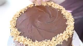 Mile High Chocolate Salted Caramel Cake | The Hummingbird Bakery