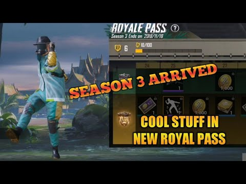 Pubg Mobile Welcome Season 3 Cool Stuff In New Royale Pass Bang