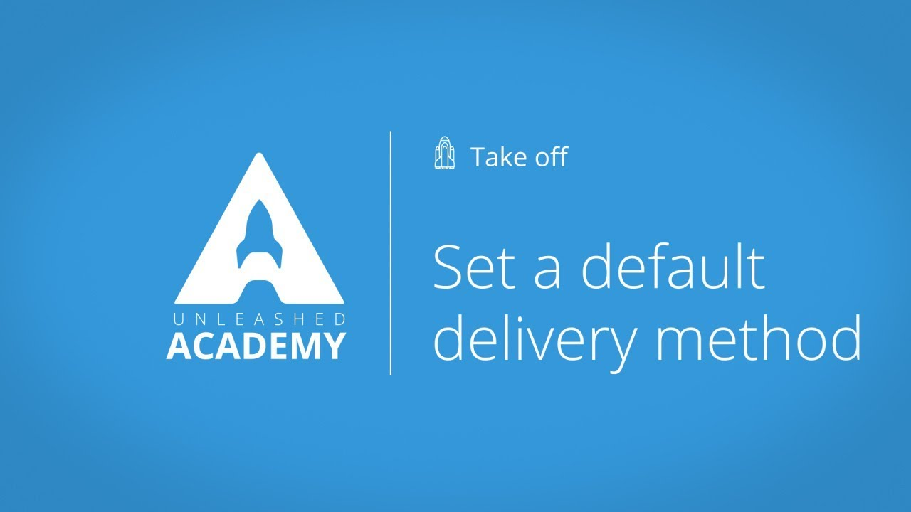 Set a default delivery method YouTube thumbnail image
