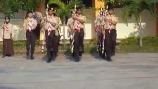 preview picture of video 'Upacara Hari Pramuka Ke-53 14 Agustus 2014 bagian 2'