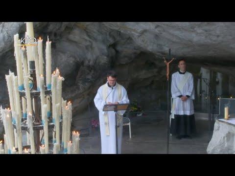 Chapelet à Lourdes du 23 mars 2020