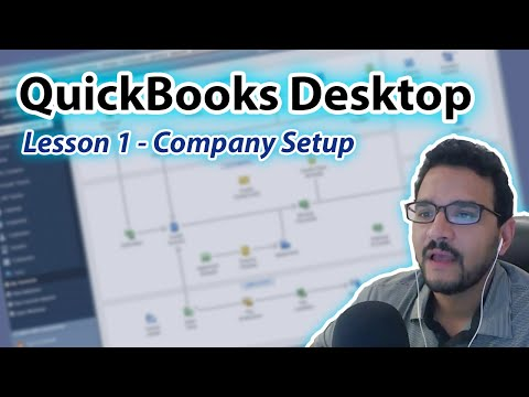 QuickBooks Desktop Course PREVIEW: Day 1, Lesson 1: Setup a ...