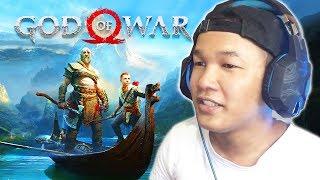 ការមកដល់របស់ស្ដេចជីវិតអមតៈ Kratos - NEW GAME GOD OF WAR 4 2018 Ep01 Khmer|VPROGAME