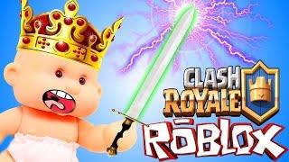 РОБЛОКС КЛЕШ РОЯЛЬ ТАЙКОН в roblox Clash Royale Tycoon Приключения мульт героя в игре на SPTV