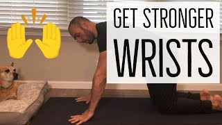 How to Strengthen Wrists for Pushups, Handstand, Planche, Gymnastics, Yoga (No equipment needed!)