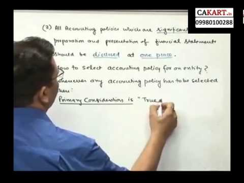IPCC Accounts video classes by CA Parveen Sharma (part 2)