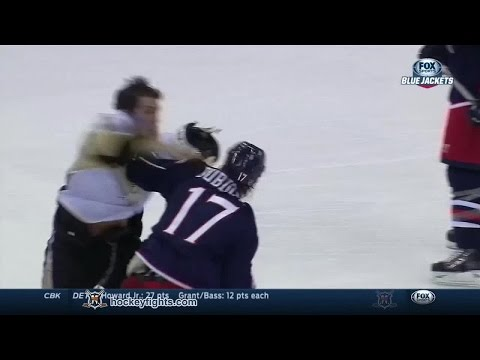Brandon Dubinsky vs. Steve Downie