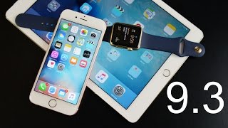 Apple iOS 9.3: What's New?