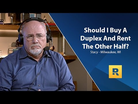 Should I Buy A Duplex And Rent The Other Half?
