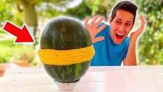 ESPLODERE UN ANGURIA CON GLI ELASTICI! (Exploding Watermelon)