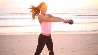 KettleToning ~ blend of toning, yoga & kettlebells with Tone It Up by Tone It Up