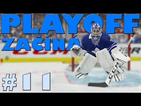 NHL 19 | KOBLIH GOLMANEM #11 | PLAYOFF ZAČÍNÁ! | CZ/SK