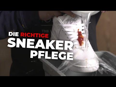 Pflegetipps: Die richtige Sneaker-Pflege