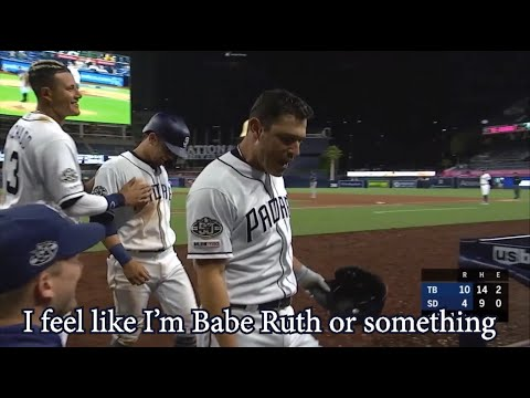 Ian Kinsler pitches a shut out inning then hits a home run, a breakdown