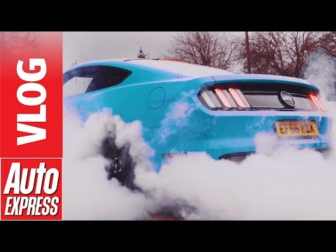 Old meets new: new Ford Mustang & '69 Mach 1 with Gareth Ainsworth and Wycombe Wanderers FC
