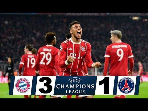 Download Bayern Munich Vs Paris Saint Germain 3 1 ...