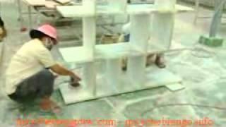 Video Tháp hút bụi sơn khô, bụi chà nhám