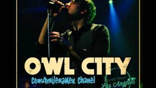 Owl City - Angels Live From LA (Audio)