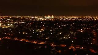 Murano Miramar Broward at night Drone