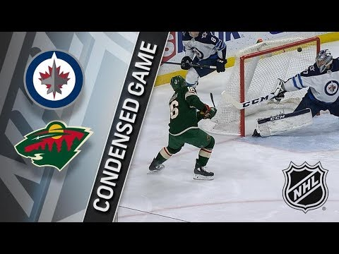 Winnipeg Jets vs Minnesota Wild – Jan. 13, 2018 | Game Highlights | NHL 2017/18. Обзор матча
