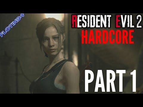 ROZUM V KÝBLU | Resident Evil 2: HARDCORE #1 - Claire A (60FPS)