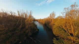 Quick FPV session over the pond